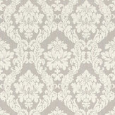 Elite Wallpapers Chelsea Damask Silver Wallpaper - Product code: 085838