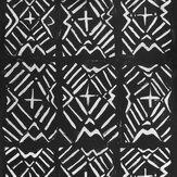 Mind the Gap Bamana Black / White Mural - Product code: WP20410