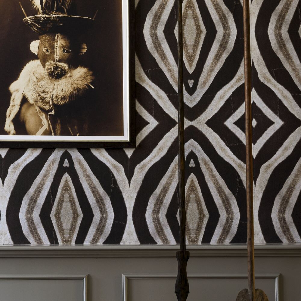 Mind the Gap Idube Brown / Taupe Mural - Product code: WP20418