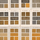 Mind the Gap Triate Des Couleurs Brown / Yellow / White Mural - Product code: WP20414
