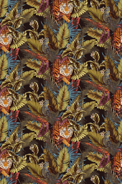 Bengal Tiger Fabric - Amazon - by Prestigious