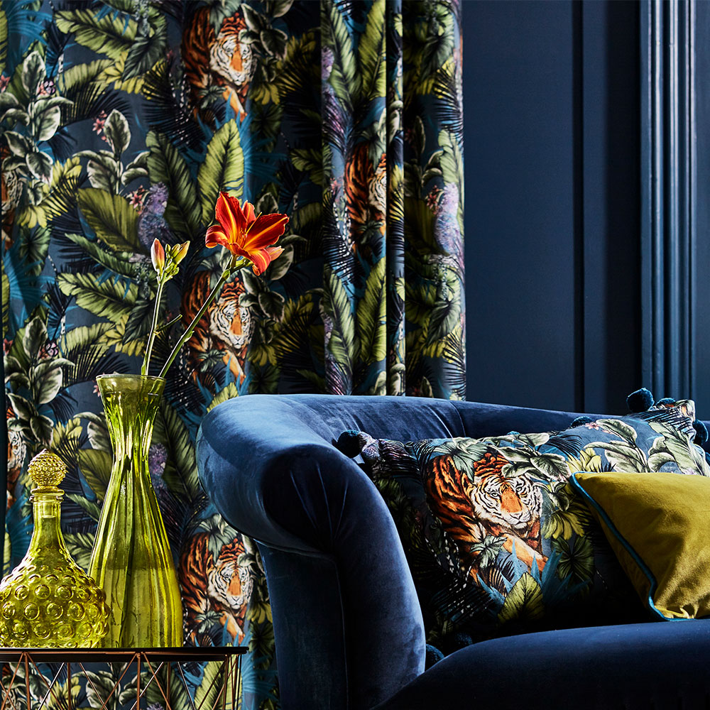Prestigious Bengal Tiger Twilight Fabric - Product code: 3799/954