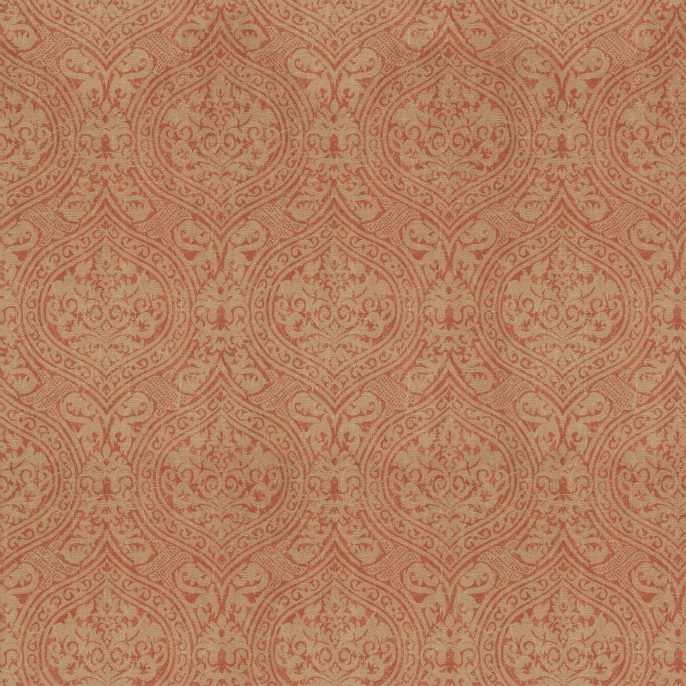 Mind the Gap Damask Red Mural - Product code: WP20095