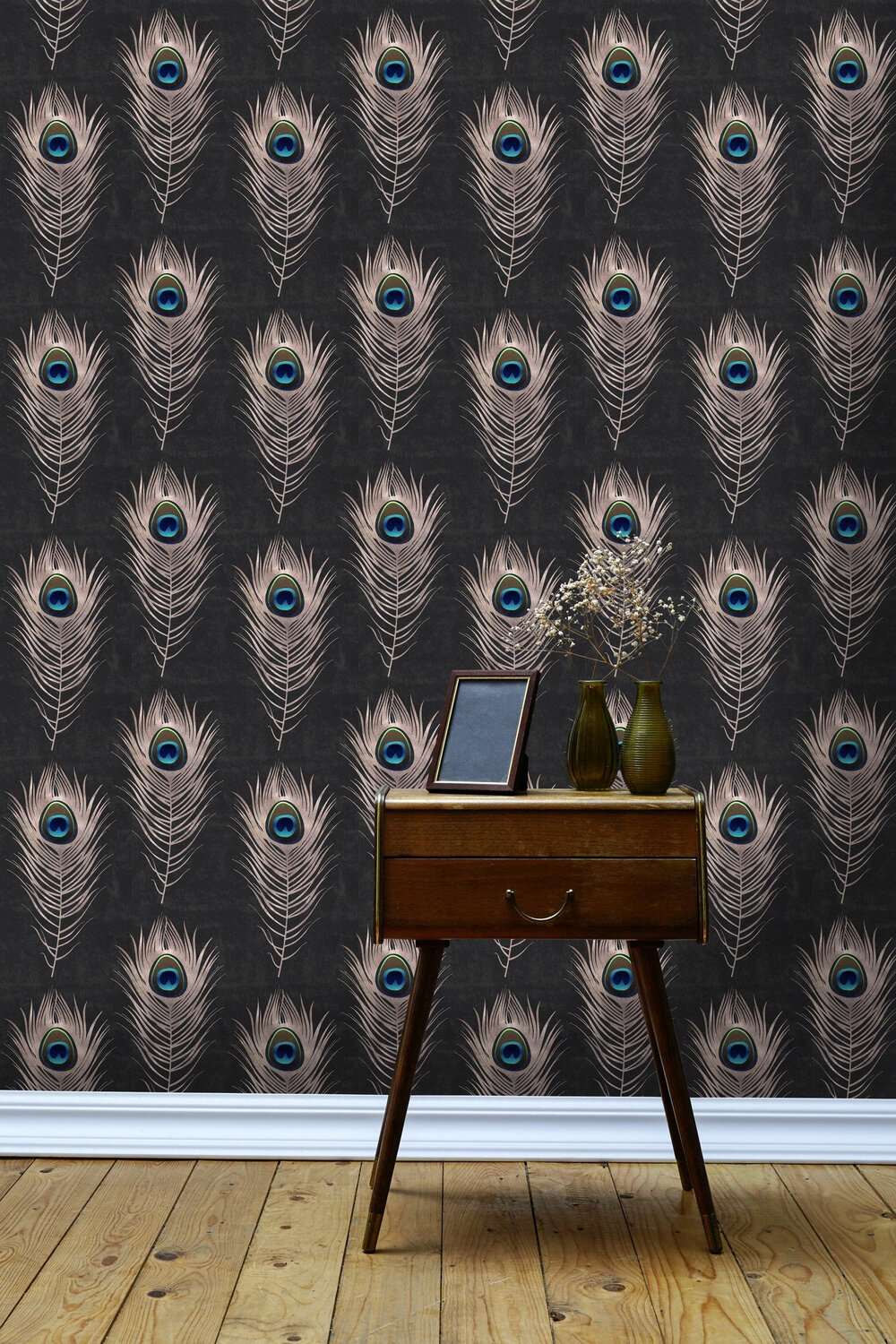 Mind the Gap Peacock Grey Mural - Product code: WP20230