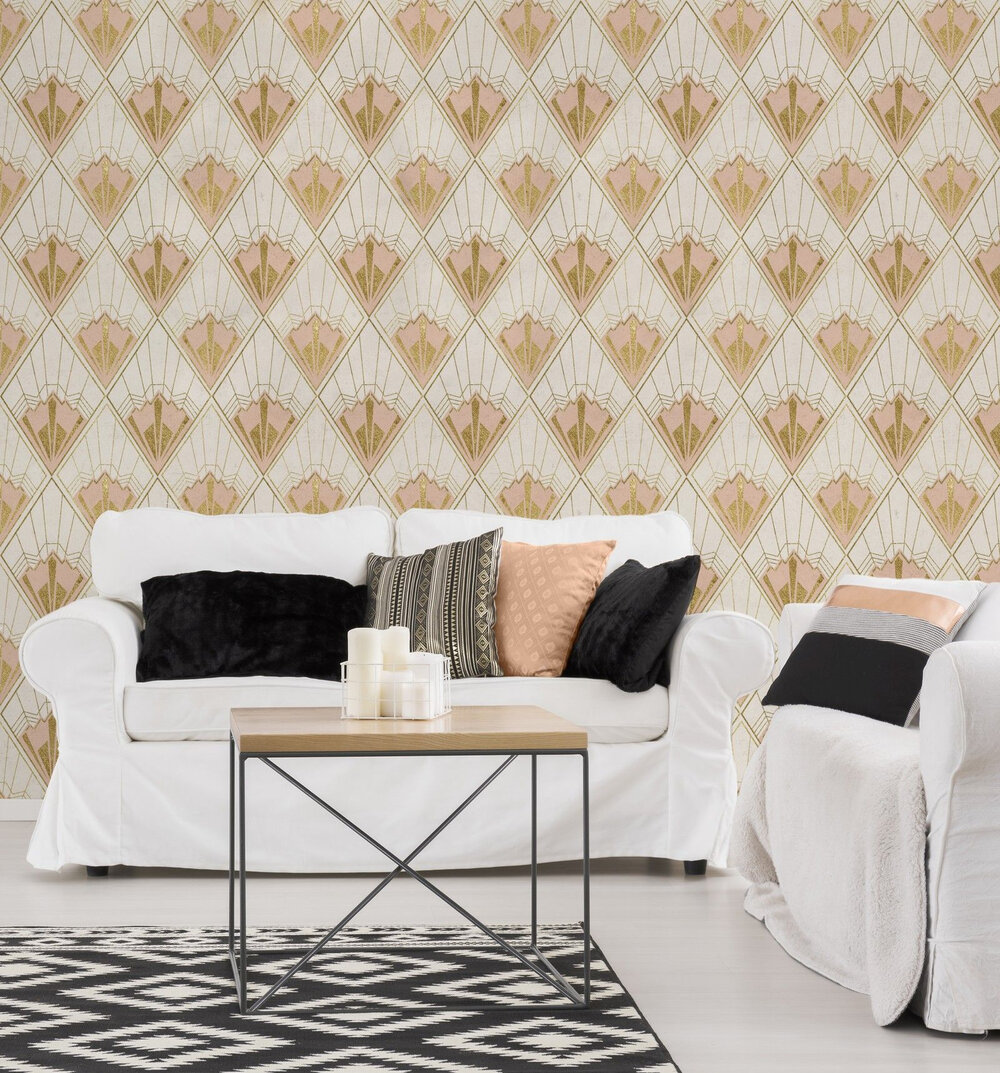 Mind the Gap Revival Taupe Mural - Product code: WP20232
