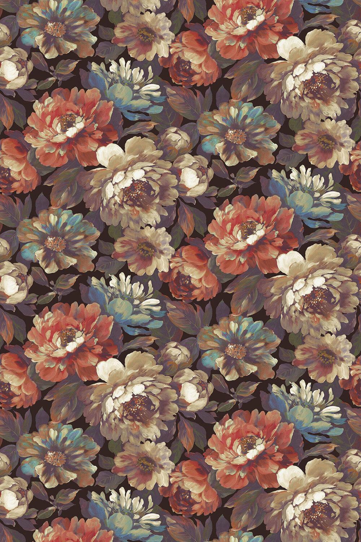 Secret Oasis Fabric - Heritage - by Prestigious