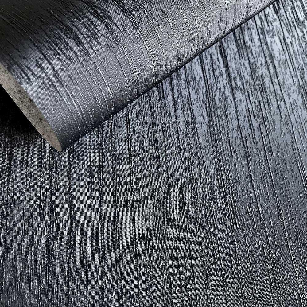 Miya Wallpaper - Black - by Fardis