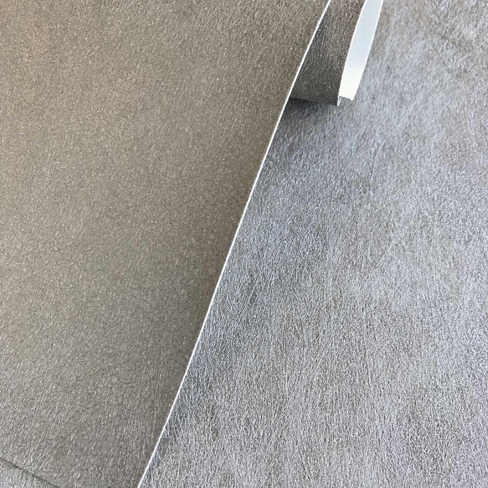 Aphrodite Plain Wallpaper - Silver - by Fardis