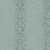Fardis Devore Stripe Turquoise Wallpaper - Product code: 10113
