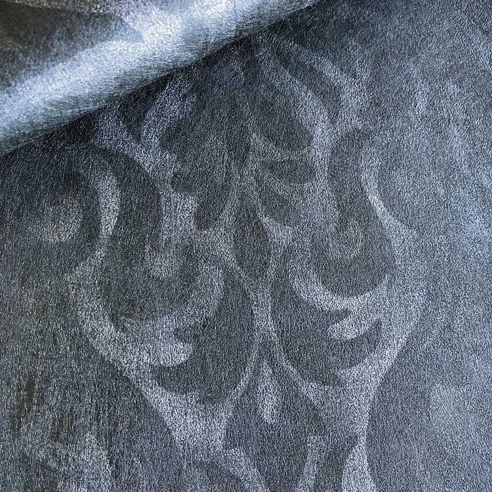 Devore Stripe Wallpaper - Grey - by Fardis