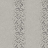 Fardis Devore Stripe Silver Wallpaper - Product code: 10116