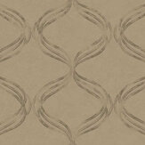 Fardis Devore Ribbon Brown Wallpaper - Product code: 10135