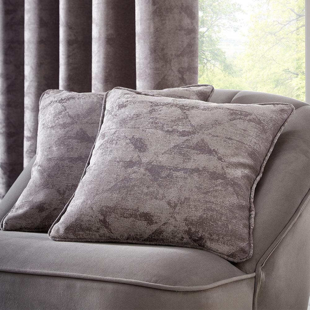 Topia Cushion - Charcoal - by Studio G