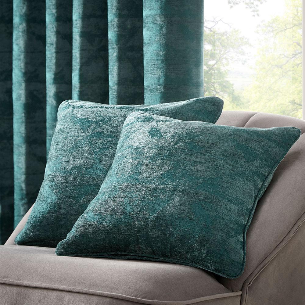 Topia Cushion - Emerald - by Studio G