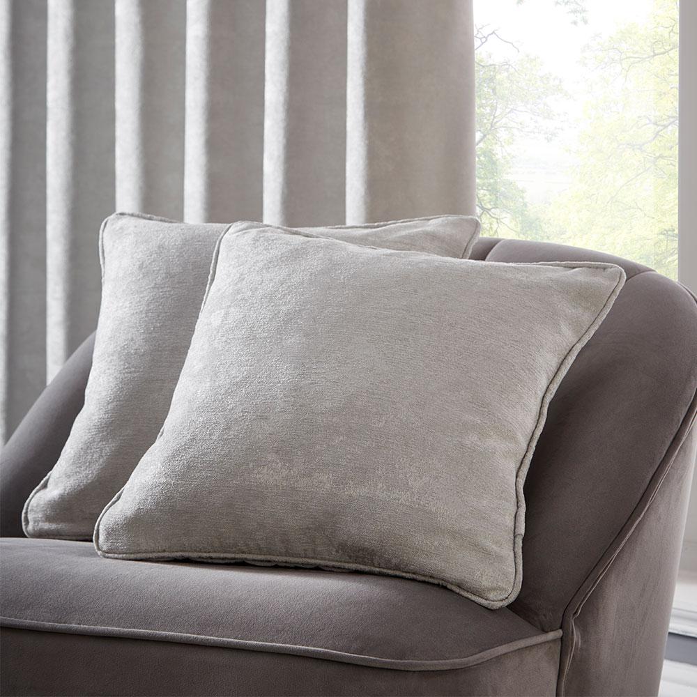 Topia Cushion - Silver - by Studio G