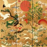 Mind the Gap Byobu  Orange Mural - Product code: WP20343