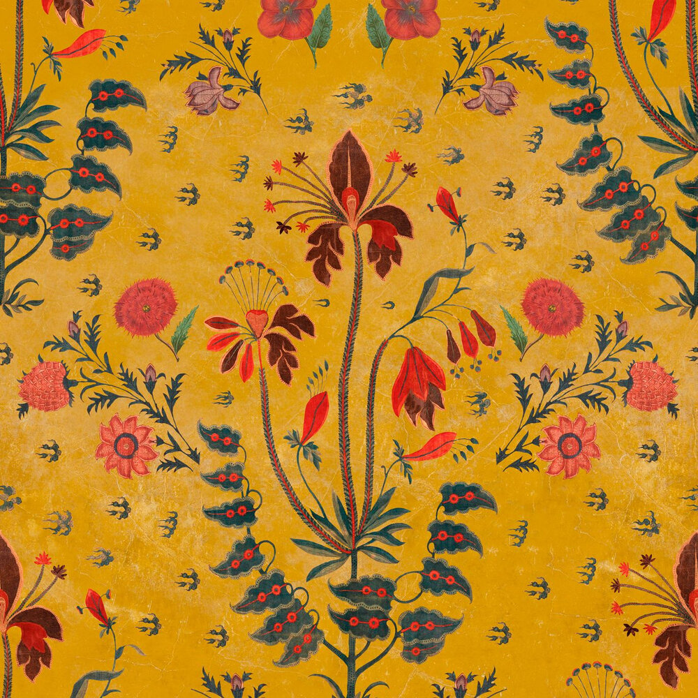 Mind the Gap Gypsy Ochre Mural - Product code: WP20311