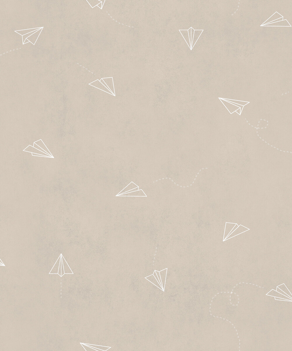 Lindbergh Wallpaper - Beige - by Coordonne