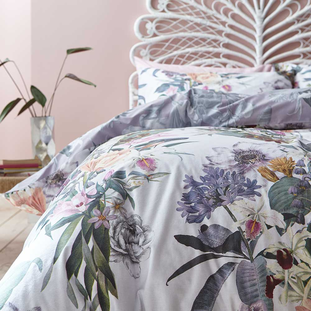 Accessorize Kensington Duvet Set Multi-coloured Duvet Cover - Product code: BD/52622/R/SQS/MU
