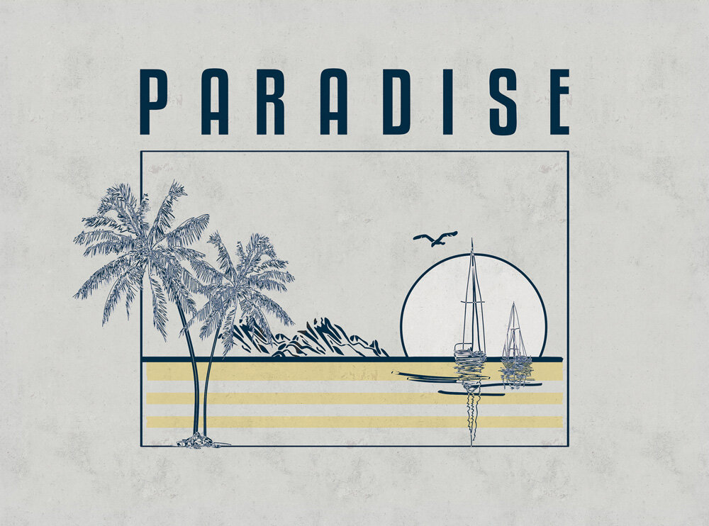 Coordonne Paradise Cold Mural - Product code: 8500121