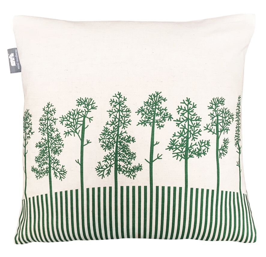 Moordale Douglas Cushion - Green - by Mini Moderns