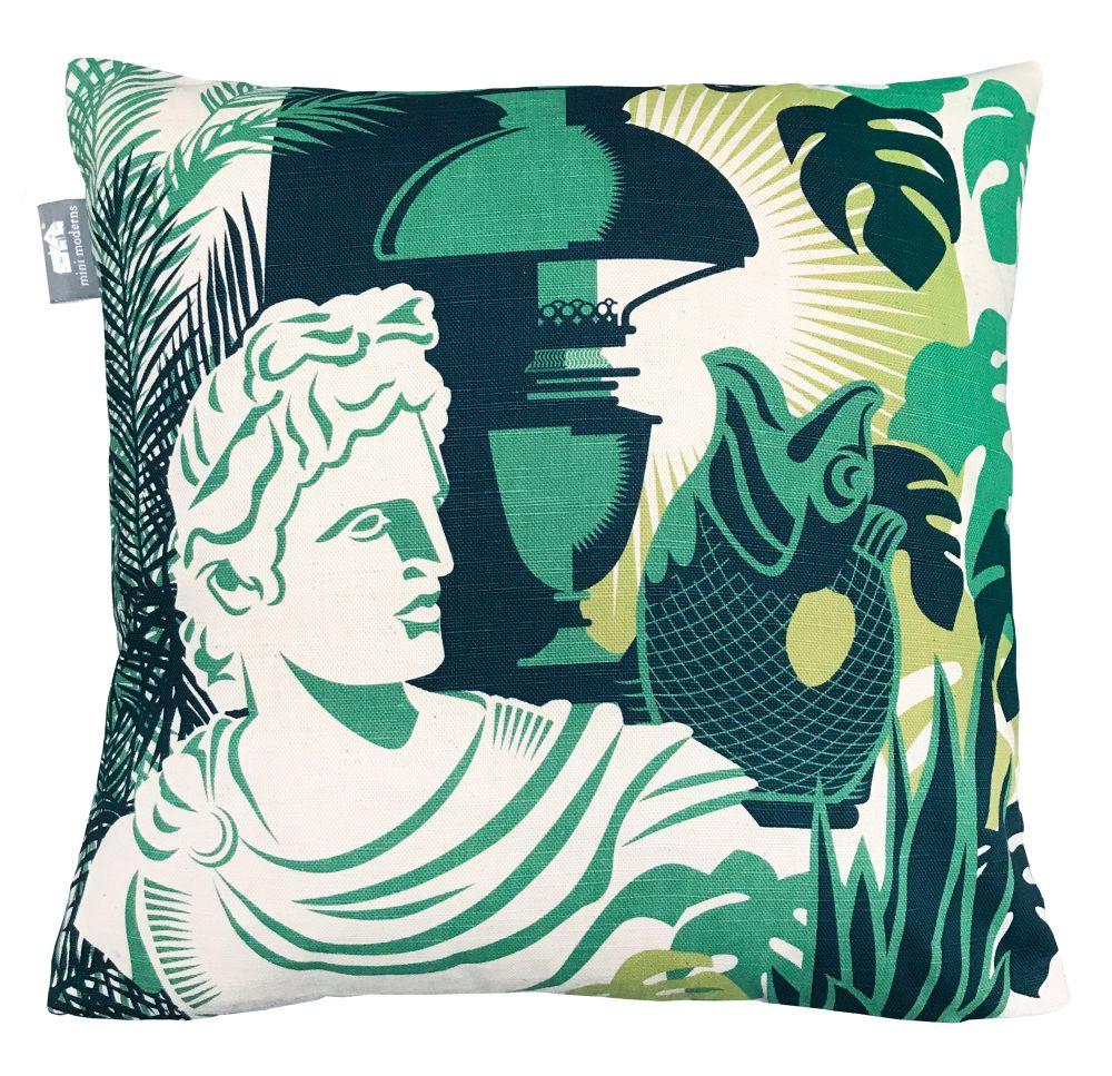 Mini Moderns Art Room Coach Emerald Cushion - Product code: ART ROOM COACH
