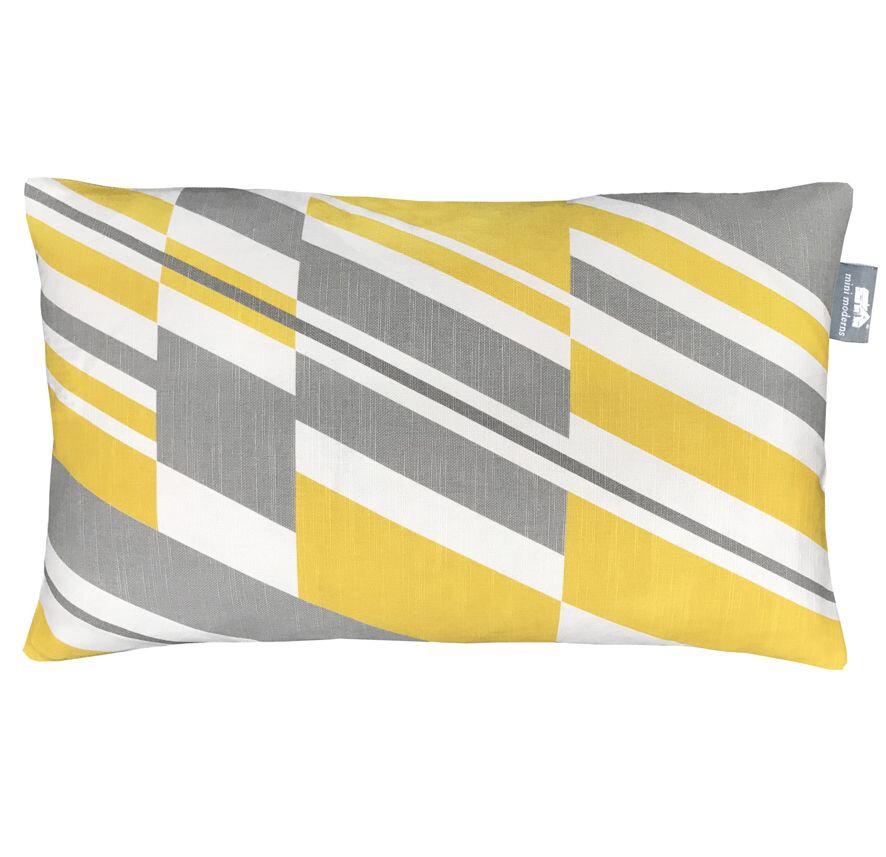 Pluto Cushion - Mustard - by Mini Moderns