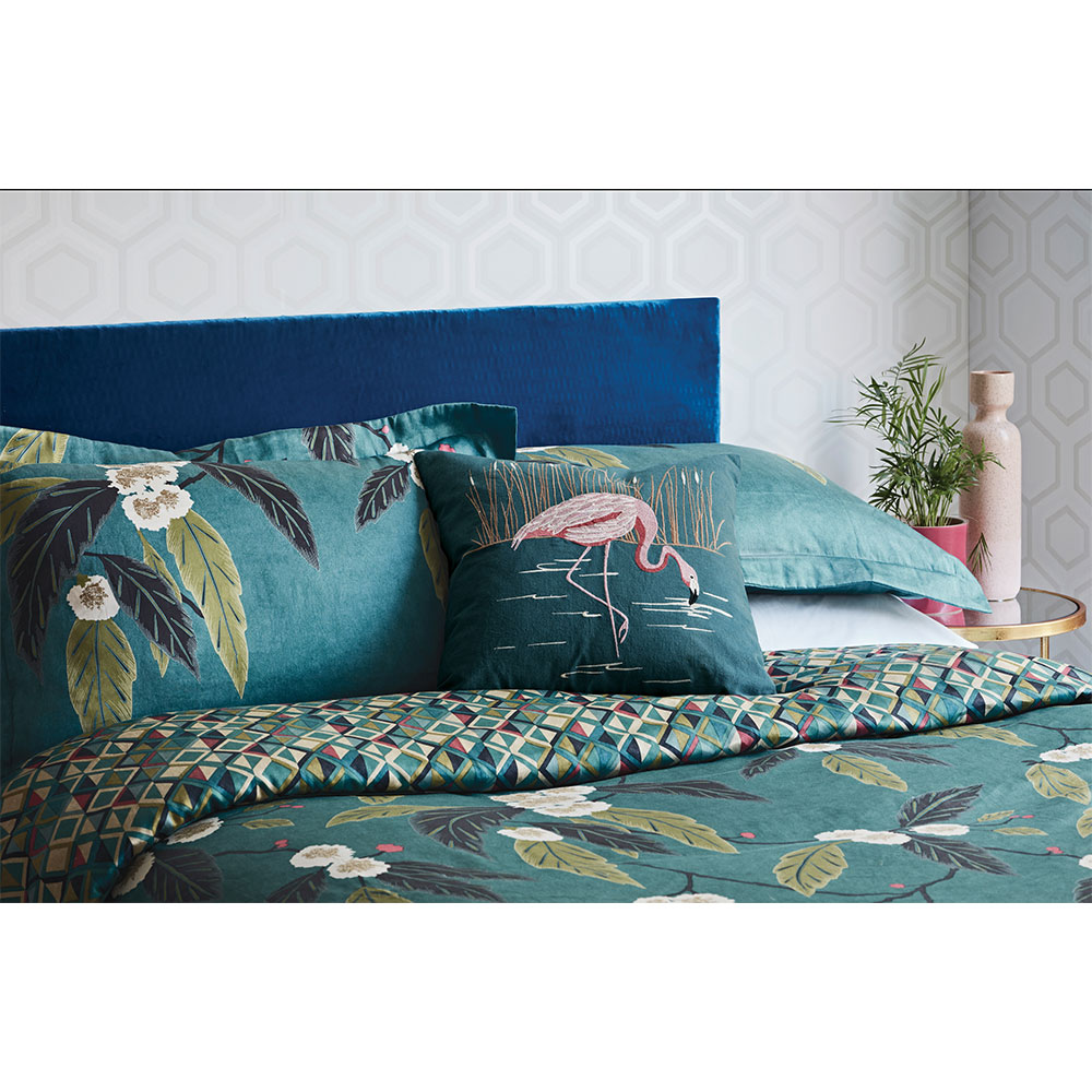 Coppice Duvet Cover  - Peacock - by Harlequin