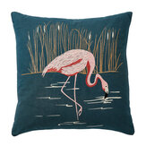 Harlequin Coppice Cushion Peacock - Product code: CSHCOPPCPEA
