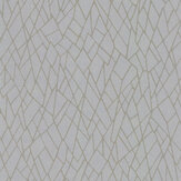 SketchTwenty 3 Ice Iridescent Beads Teal / Iridescent Gold  Wallpaper - Product code: EV01121