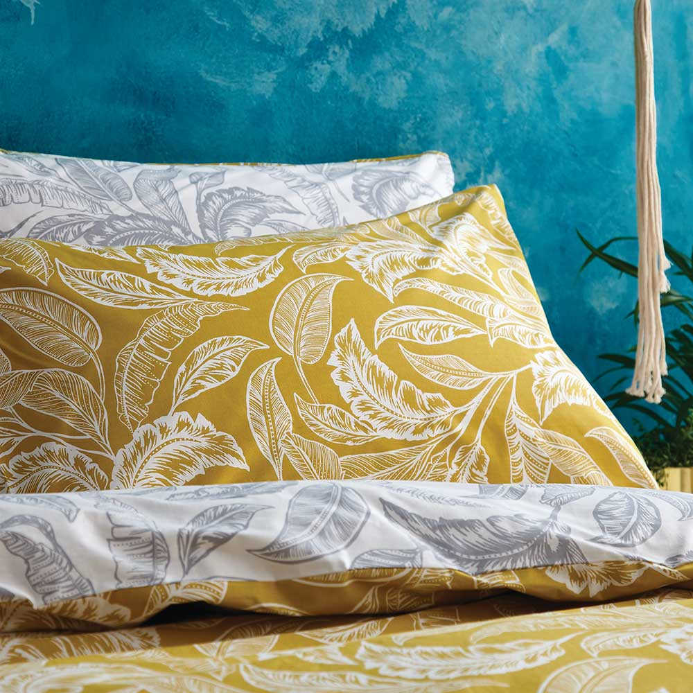 Mozambique Duvet Set Duvet Cover - Ochre - by Accessorize