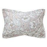 Morris Pure Bachelor's Button Oxford Pillowcase Faded Sea Pink - Product code: DUCPBUPOPIN