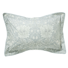 Morris Pure Honeysuckle & Tulip Oxford Pillowcase Light Grey Blue - Product code: DUCPHTGOGRE