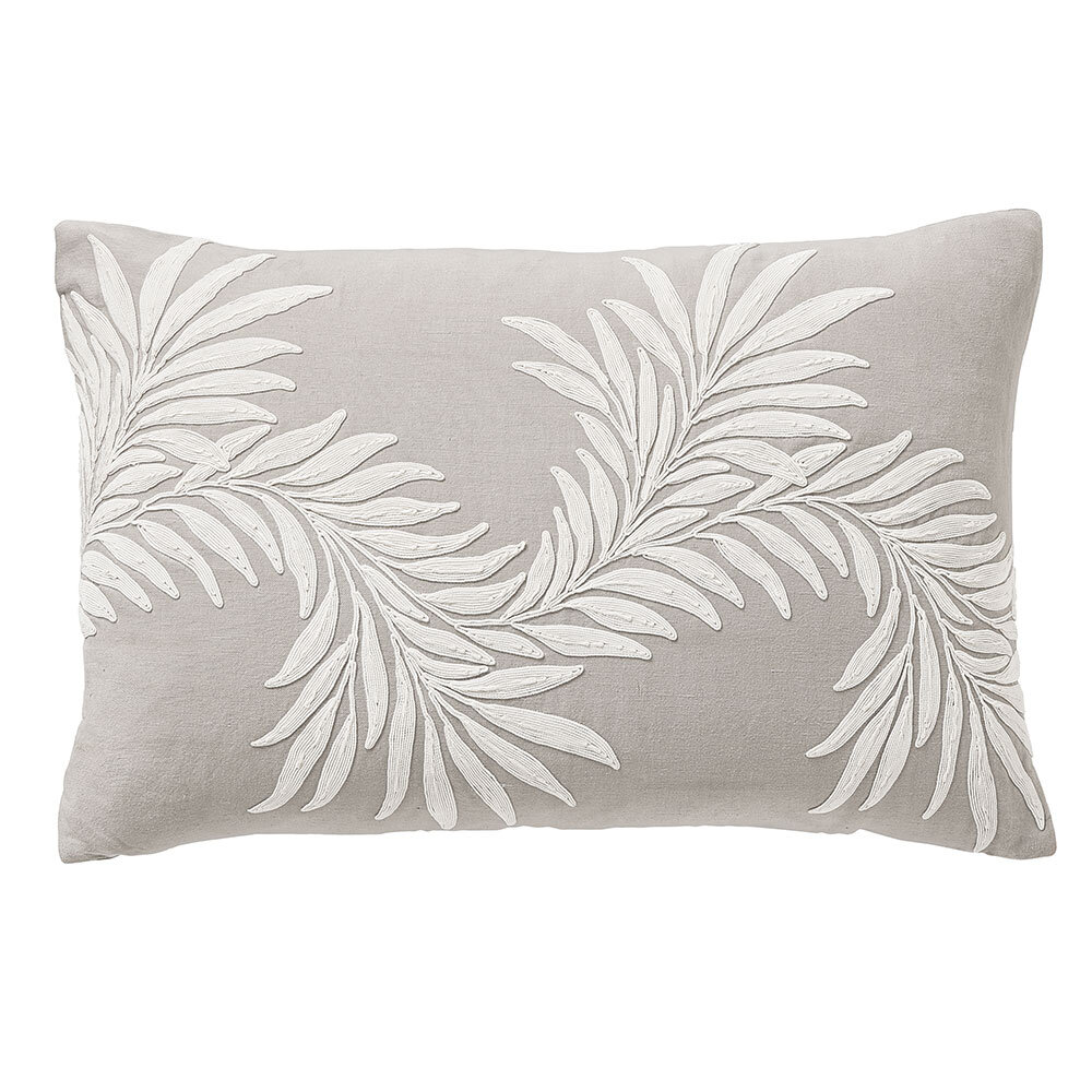 Morris Pure Honeysuckle & Tulip Cushion Linen - Product code: CSHPHTGCGRE