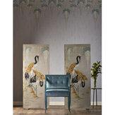 Kandola Wisteria Garden Mural Silver Moon - Product code: DW1681/01