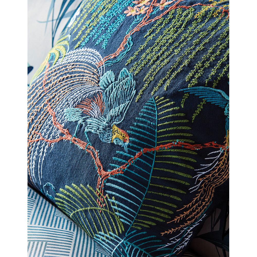 Sanderson Palm House Cushion Papaya - Product code: CSHPMHECIND