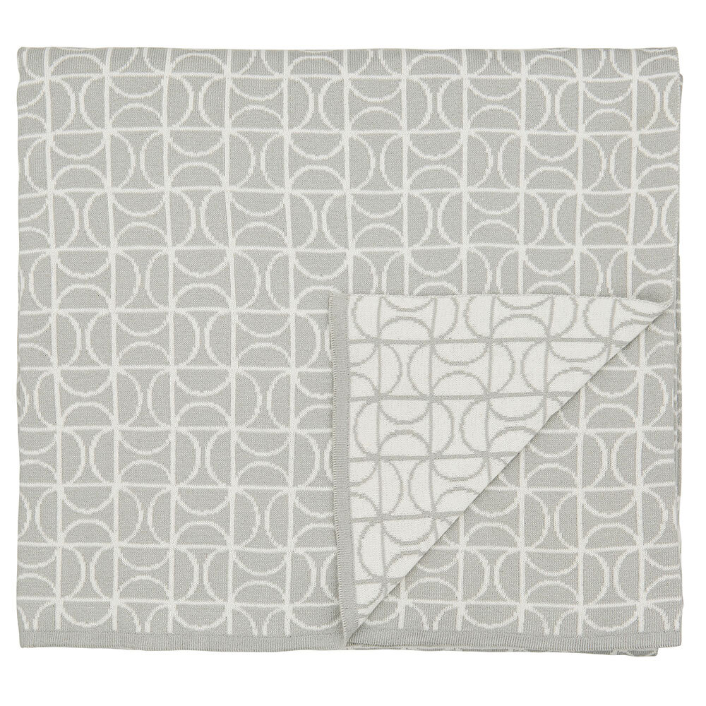 Ocotillo Knitted Throw - Grey - by Scion