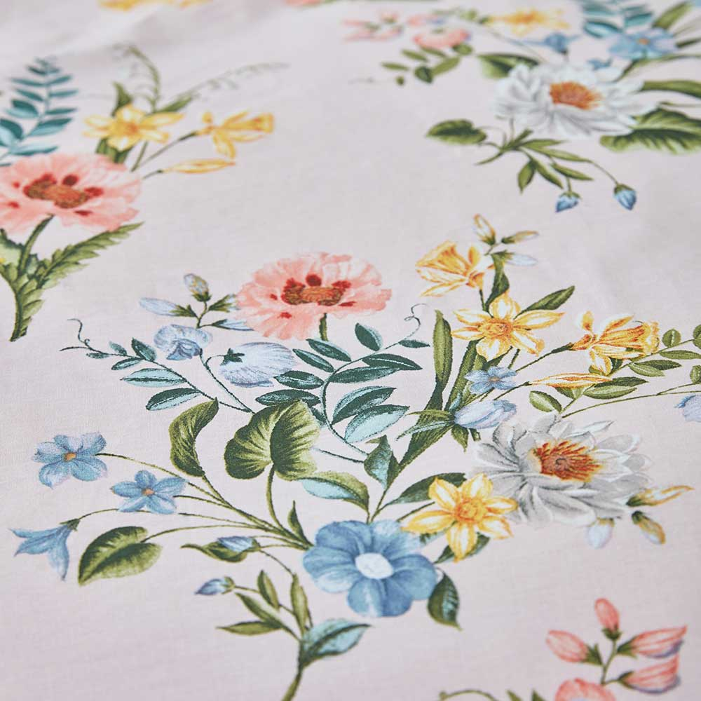 Accessorize Botanical Vintage Duvet Set Blush Duvet Cover - Product code: BD/53586/R/DQS/BLH