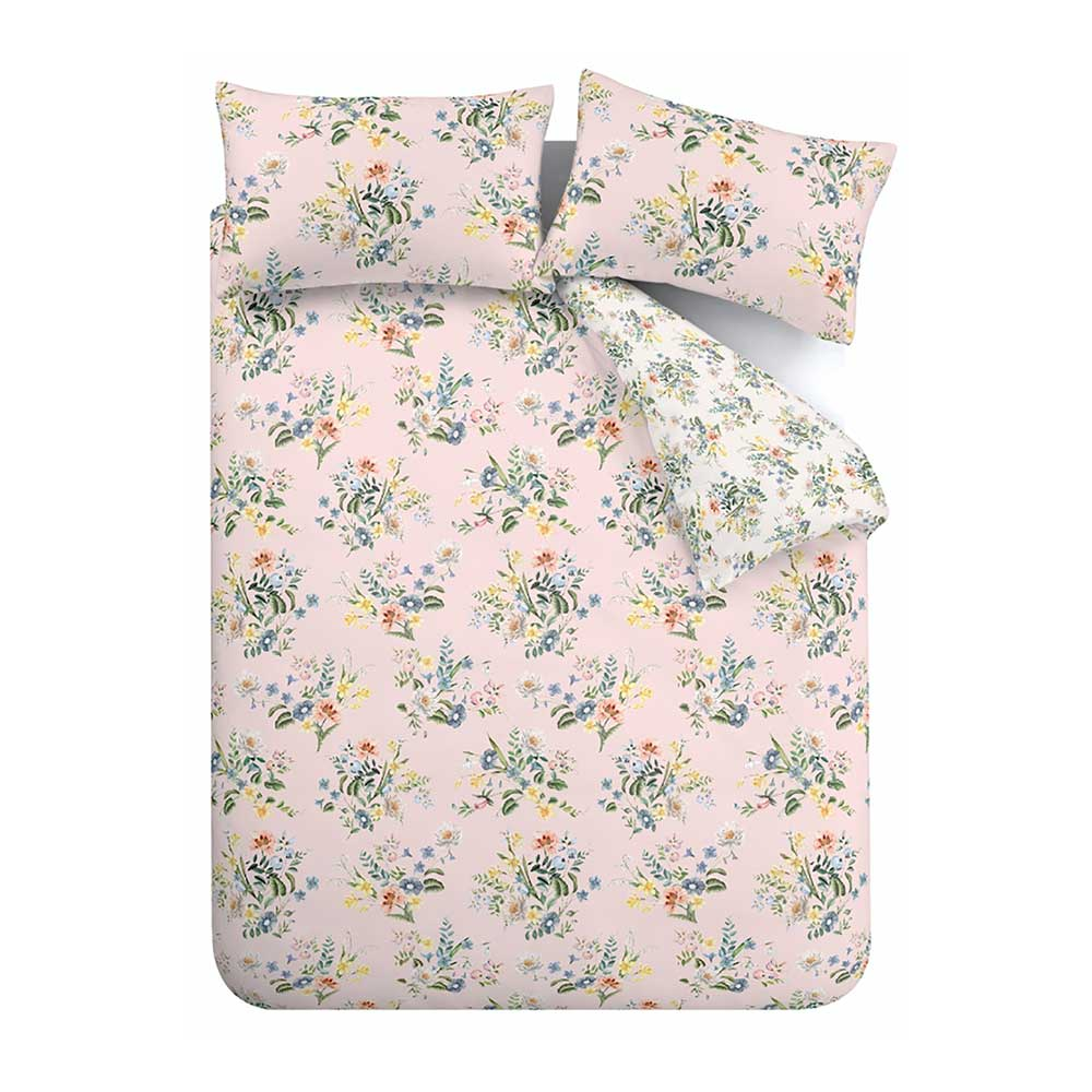 Accessorize Botanical Vintage Duvet Set Blush Duvet Cover - Product code: BD/53586/R/SKQS/BLH