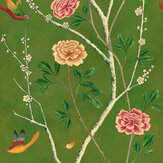 Sand & Sushi Wild Rose Chinensis Olive Grove Wallpaper - Product code: WRCHINO