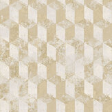 Galerie Cubo Netto Light Yellow Wallpaper - Product code: 3752