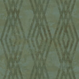 Galerie Rombo Netto Green Wallpaper - Product code: 3765