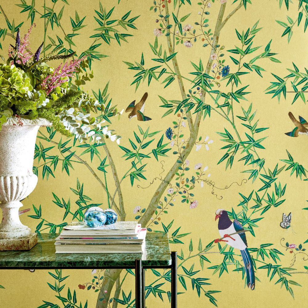 Little Greene Belton Scenic Sunbeam Mural - Product code: 0245BSSUNBE