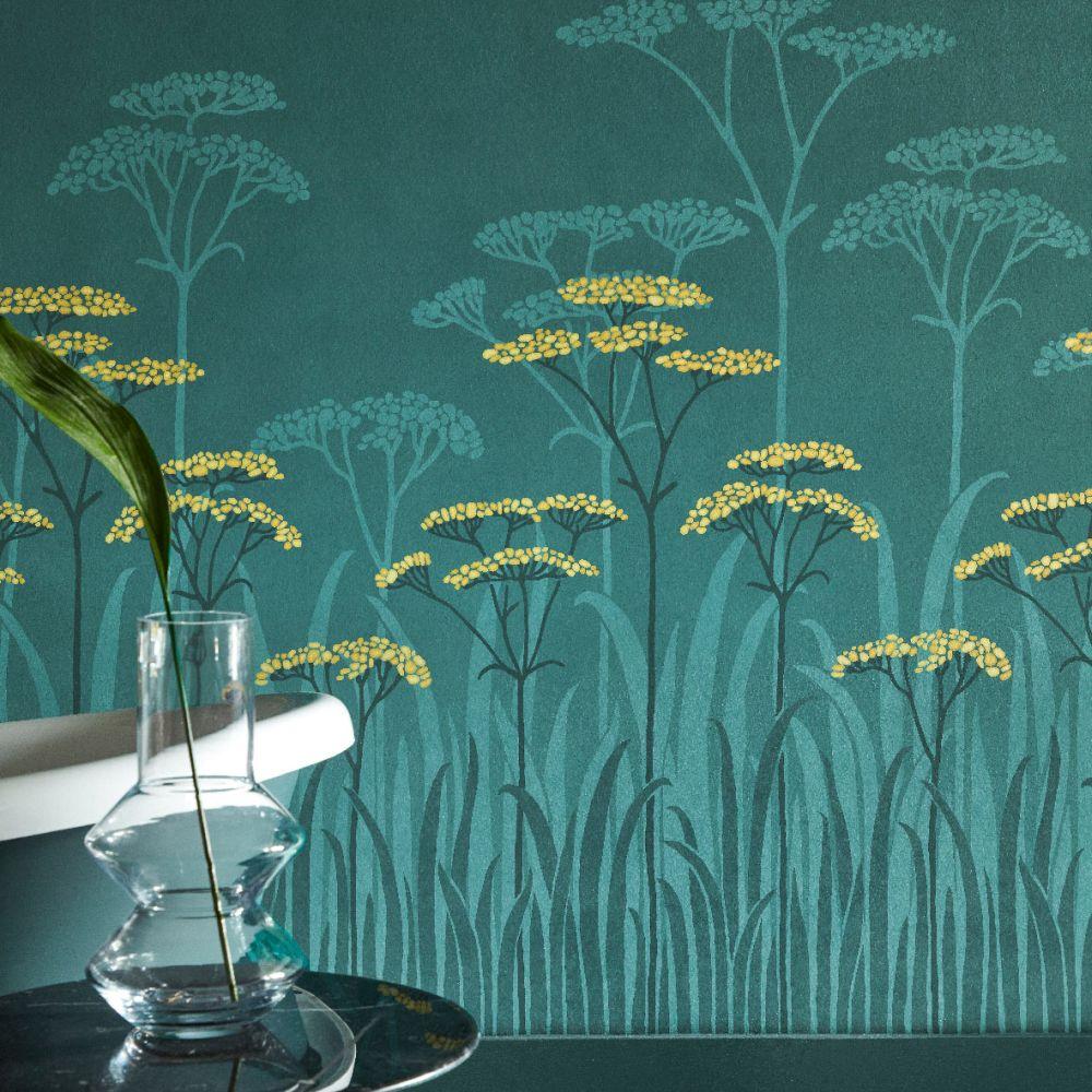 Little Greene Achillea Aurora Mural - Product code: 0245ACAUROR