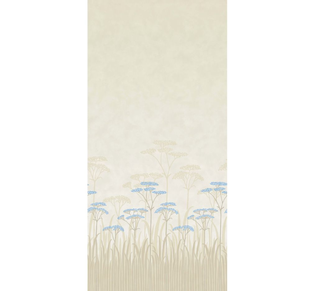 Achillea Mural - Dew - by Little Greene