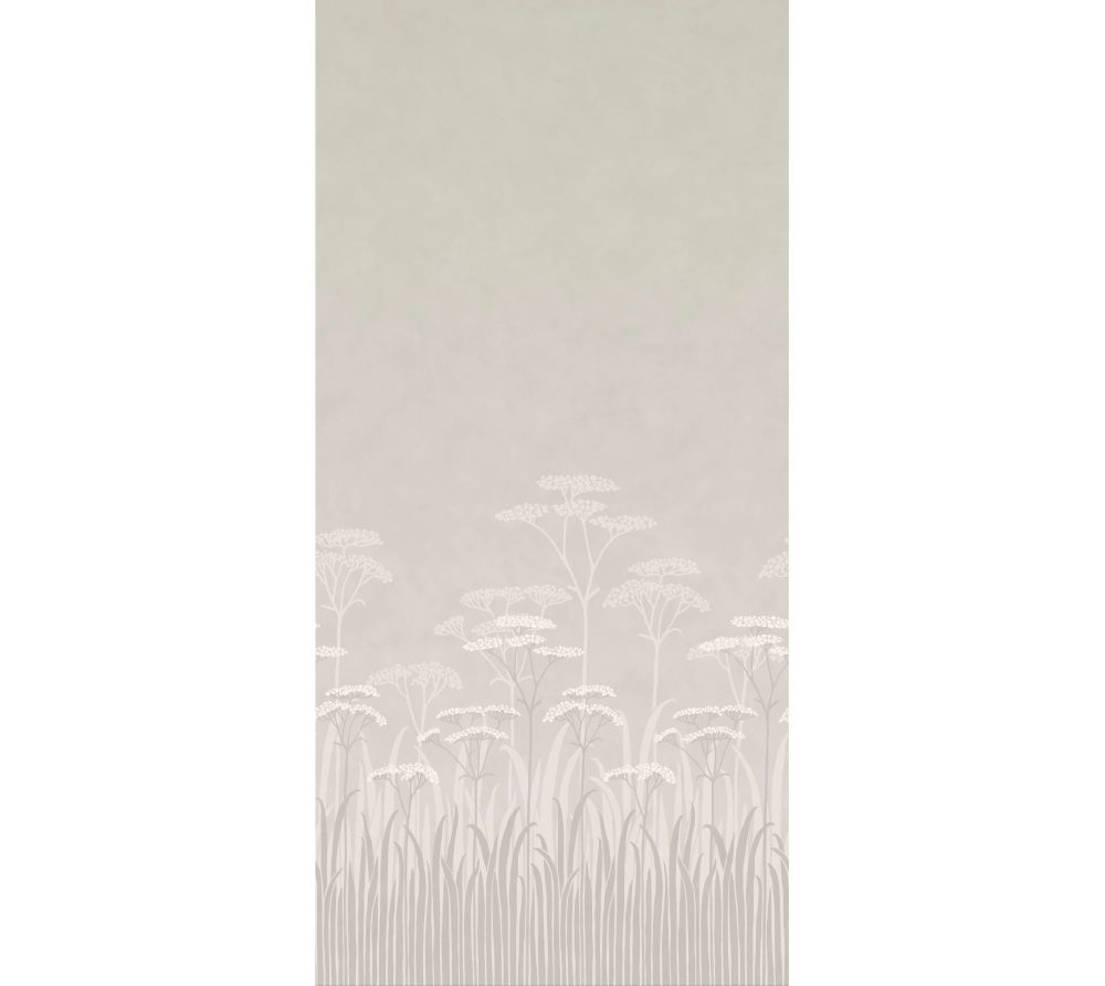 Achillea Mural - Brume - by Little Greene