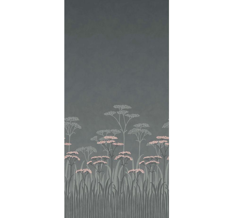 Achillea Mural - Twilight - by Little Greene