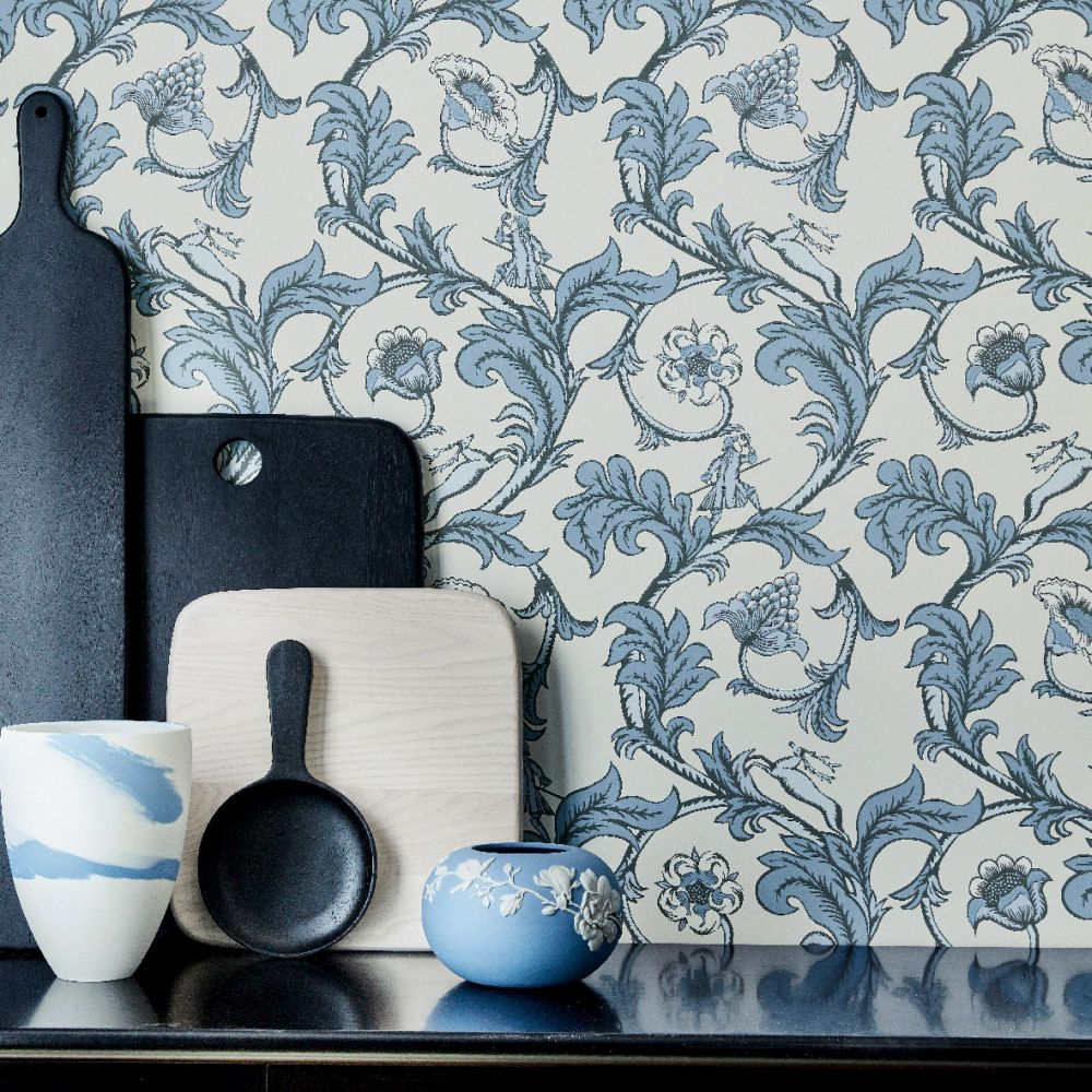 Little Greene Stag Trail Sky Wallpaper - Product code: 0245STSKYZZ