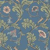 Little Greene Stag Trail Juniper Wallpaper - Product code: 0245STJUNIP