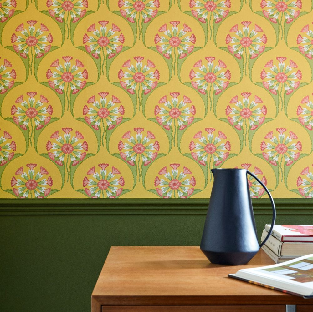 Little Greene Hencroft Punch Wallpaper - Product code: 0245HEPUNCH